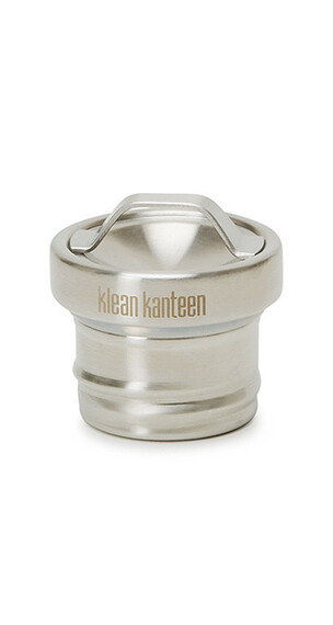 Klean Kanteen Classic All Stainless Loop Cap brushed stainless